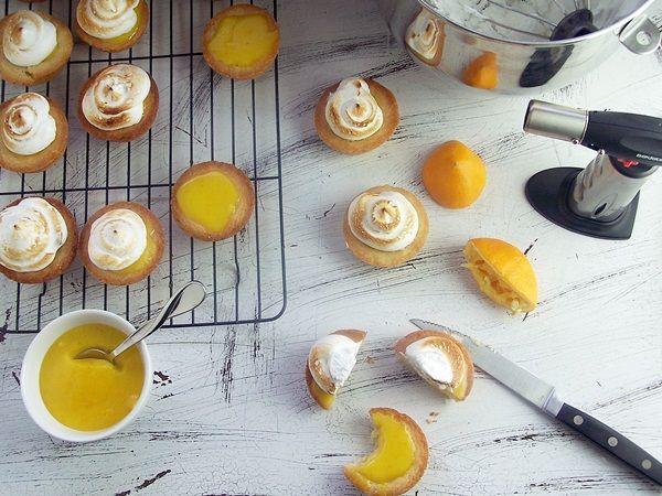 Mini Lemon Tarts from Cravings of a Lunatic