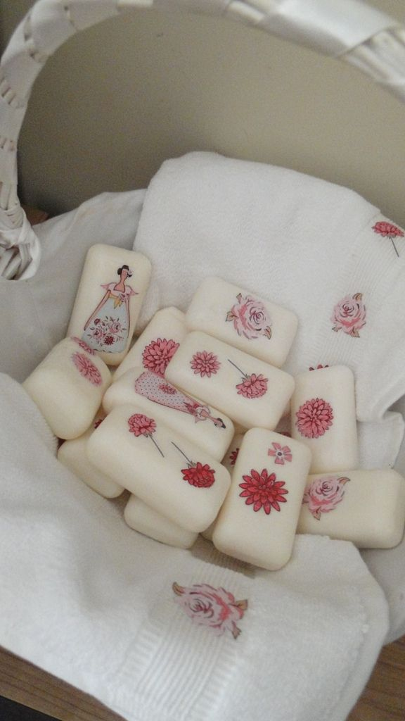 Basket of soaps