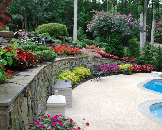 32 Best Retaining Wall Ideas Images On Pinterest | Backyard Ideas Diy Landscaping Ideas And ...