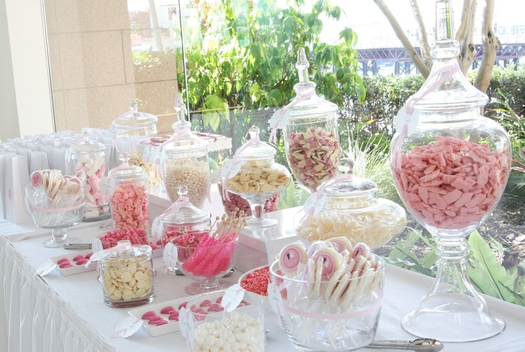 17 Best Images About Pink Candy Buffets On Pinterest