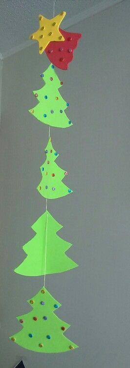 Navidad ( árboles colgadas)