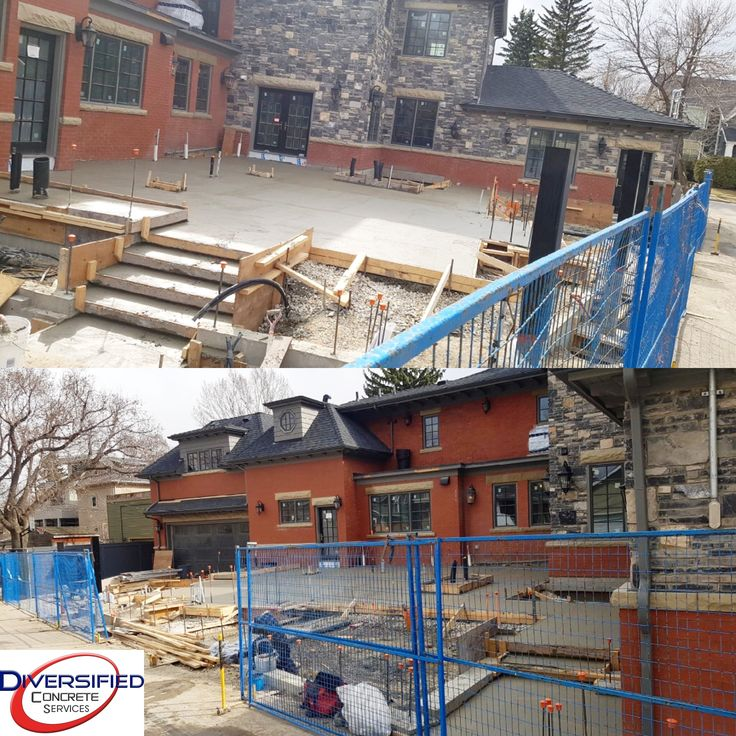 We win! #allfinished #yyc #structuralslab #concrete #diversifiedconcreteservices #luxuryhome #rosedale