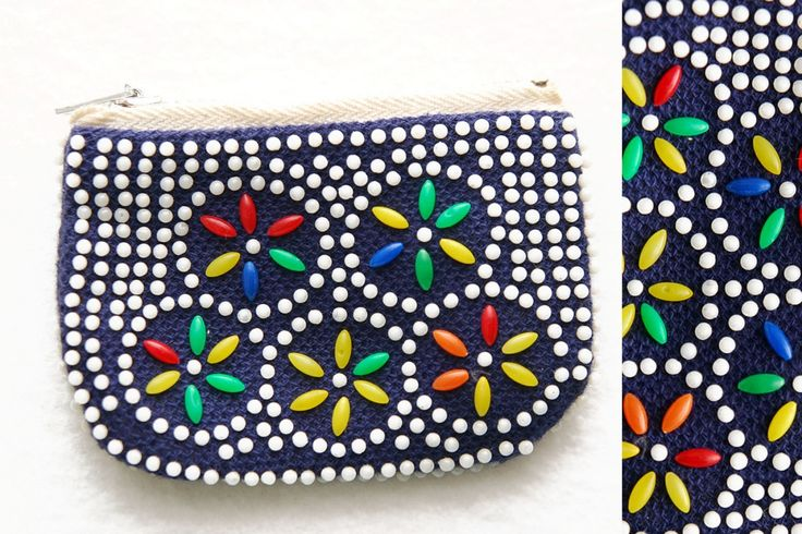 beaded purses from the 70s - I even remember picking the little beads off...and wishing I hadn't !