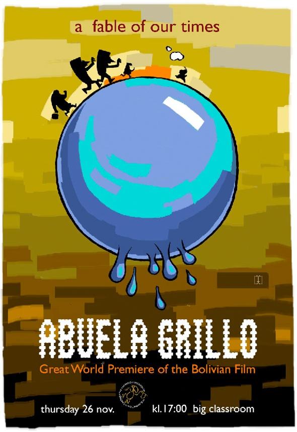 Animación, la Abuela Grillo