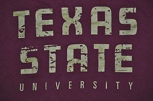 state texas university t- shirts | Clothing, Shoes & Accessories > Unisex Clothing, Shoes & Accs > Unisex ...