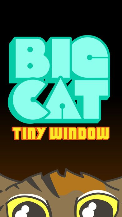Big Cat Tiny Window. Stickers for iMessage on the App Store.