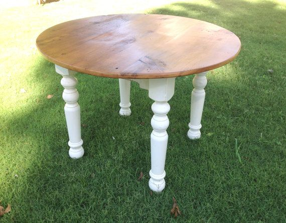Hey, I found this really awesome Etsy listing at https://www.etsy.com/listing/110005651/the-dubliner-farm-table-handmade-round