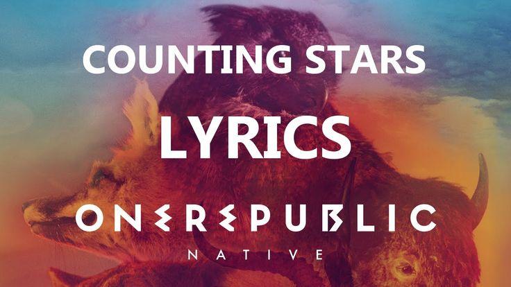 One Republic - Counting Stars - Lyrics Video (Native Album) [HD][HQ]