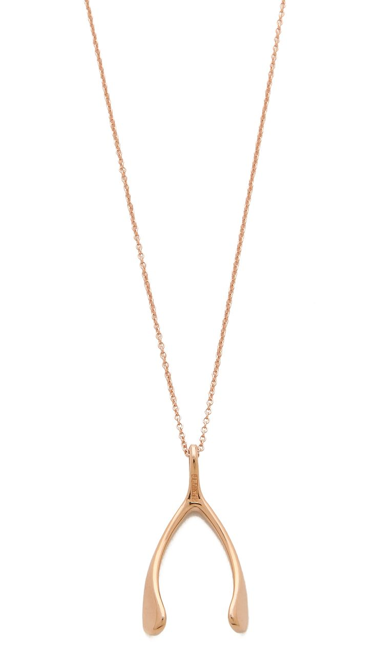 Wishbone Necklace