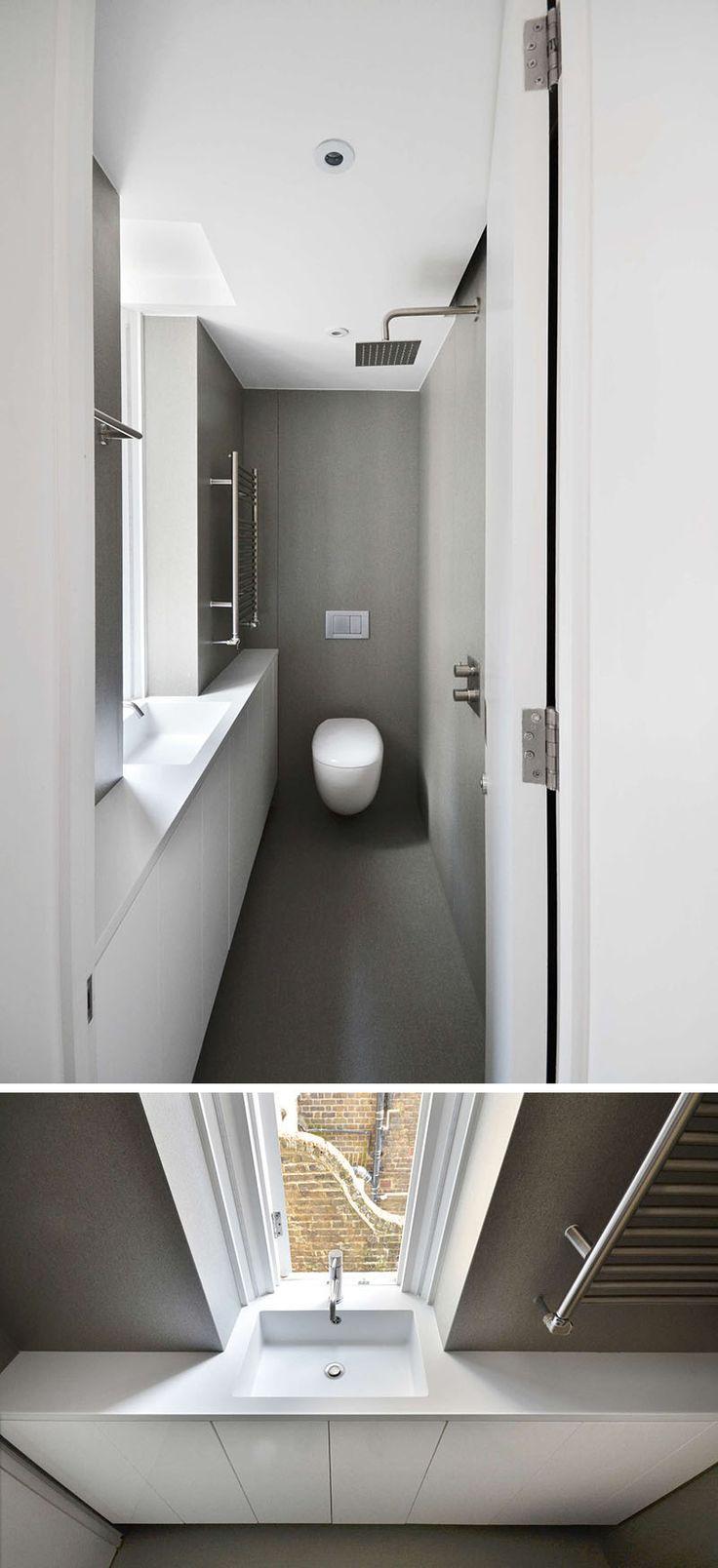25 beste idee n over kleine zolderbadkamer op pinterest zolder badkamer zolder badkamer en - Mooie eigentijdse badkamer ...