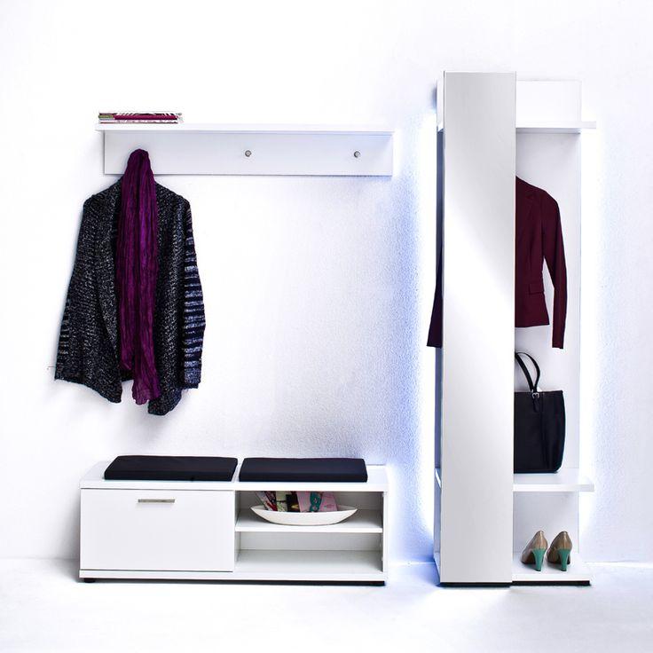 e-combuy Angebote Garderoben Set »CANARO148« Hochglanz weiß: Category: Garderoben-Sets Item number: E148.COR83K01 Price:…%#Quickberater%