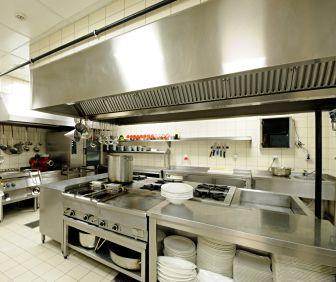 Restaurant Kitchen Interior Design