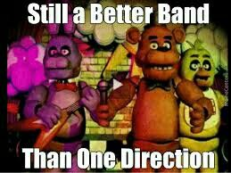 Lol, nah 1D is better by a land slide, their better than the wanted thoe