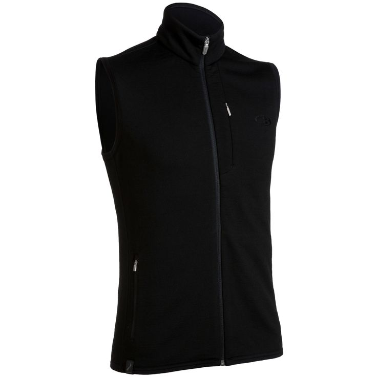 Icebreaker Women's Black Fleece Vest  - Outfitters, Grouse Mountain, Vancouver - Pin It To Win It Contest