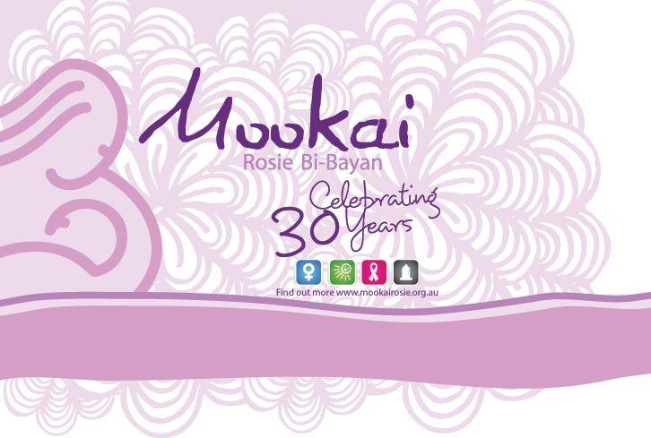 Mookai Rosie 30 Years artwork