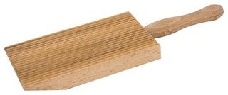 Eppicotispai Natural Beechwood Quick Gnocchi Board With Paddle - Traditional - Specialty Tools - by Kitchen Universe