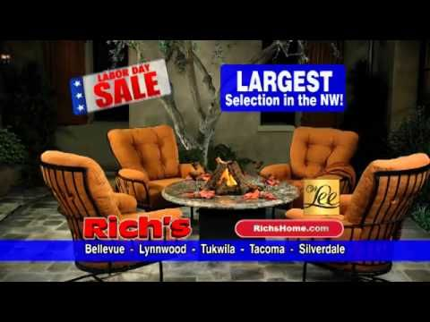Save Up To 60% On Patio Furniture At Richu0027s Itu0027s Richu0027s Biggest Sale Of  The. Labor DaySeptember ...