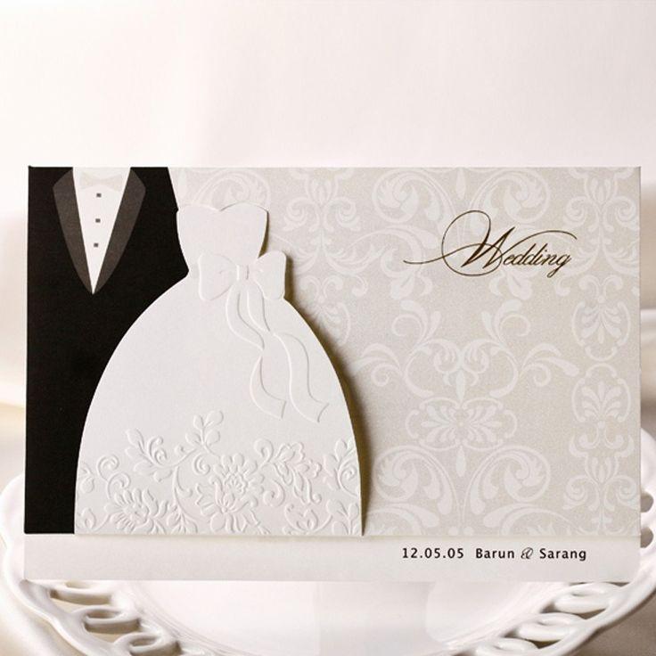 46 best WED INV images on Pinterest | Wedding invitation cards ...