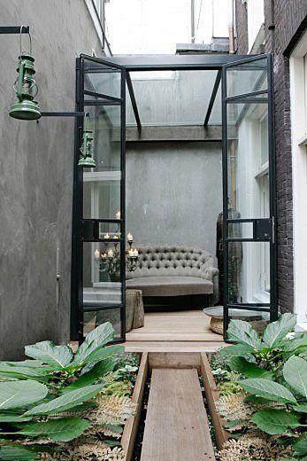 Stadsterras. Bekijk het hele project en vind wooninspiratie op www.walhalla.com.