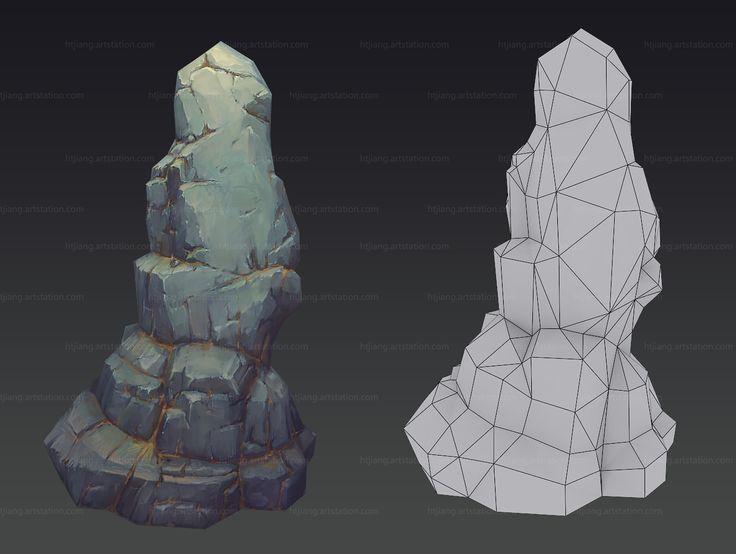 Stone, Ht Jiang on ArtStation at https://www.artstation.com/artwork/yqxz5
