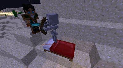 Orphea2012 Youtube et Minecraft: Minecraft   Marc Phénix a un squelette dans son li...