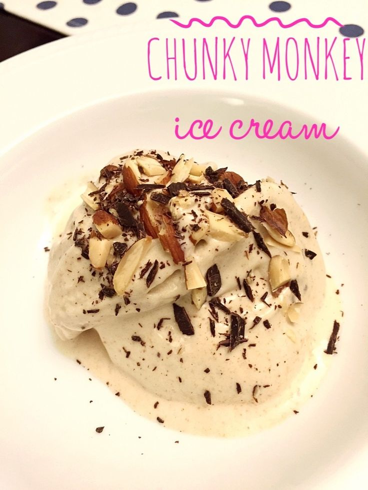 Chunky monkey clean eating ice cream, 21 Day Fix approved
