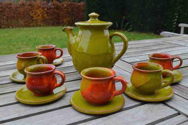 Serviezen in keramiek. Verkrijgbaar in verschillende kleuren.