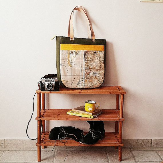 Check out this item in my Etsy shop https://www.etsy.com/listing/203130304/world-map-print-tote-bag-large-purse