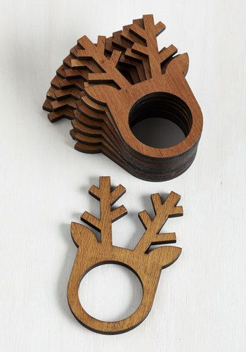 Before, During, and Antler Napkin Rings - From The Home Decor Discovery Community At www.DecoandBloom.com