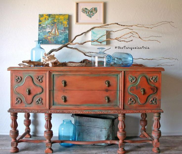 Beautiful 241 Best Orange Painted Furniture Images On Pinterest | Orange Painted  Furniture, Furniture And General Finishes