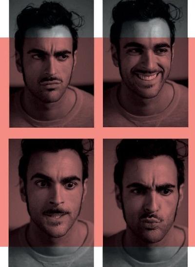 Marco Mengoni. #PRONTOACORRERE, digital booklet. i love his crazy looks