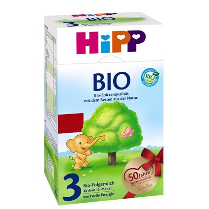 HIPP BIO Organic Stage 3 Hipp Bio Organic Stage is specially formulated using only organic milk and provides the nutrients toddlers need. It complements the child's diet from the 10 th month onwards and provides energy, protein and essential vitamins and minerals. #breastmilk #babycare #babyfood #infant #babyformula #formula #hipp #glutenfree
