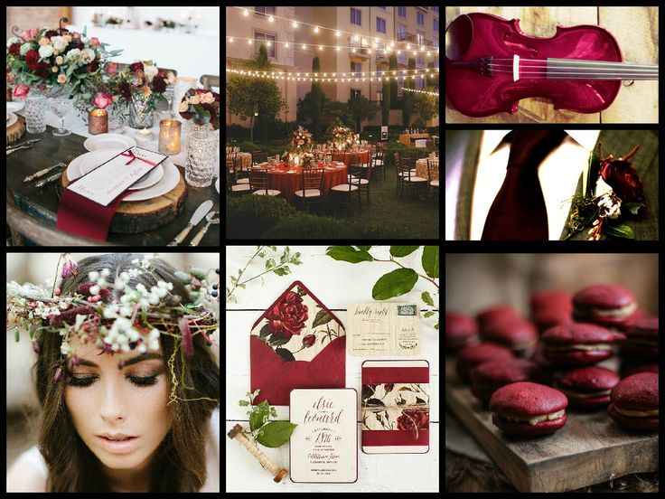 #Marsala is this year's Pantone Colour of the Year and we have included a Project in our Wedding courses so students can 'design' with this rich and earthy shade of red.  Dani of One Day in March, has captured the essence of it beautifully and developed a concept for an eco whimsical wedding - inspired by #Marsala