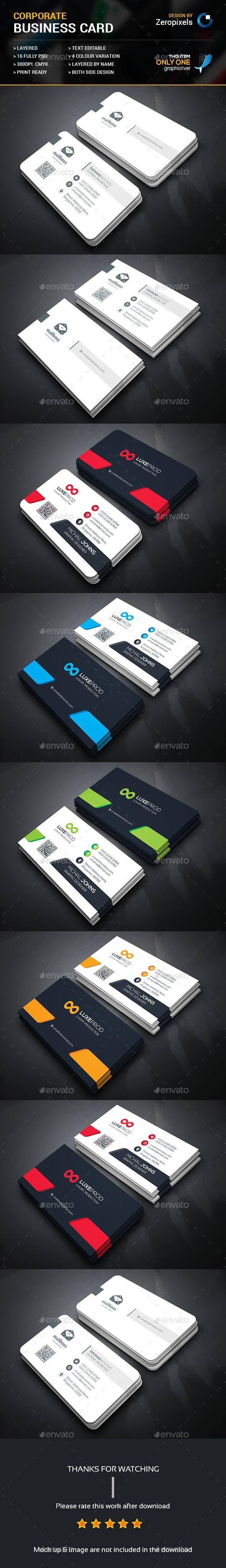 Business Card Bundle Templates PSD. Download here: http://graphicriver.net/item/business-card-bundle/16386105?ref=ksioks