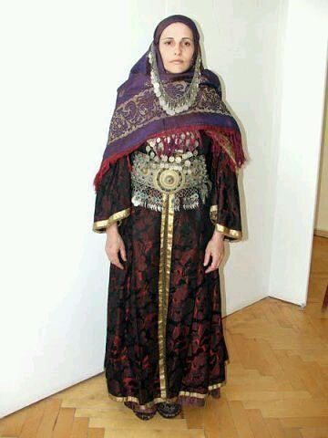 Lezgians tradissional costum, lezgin woman