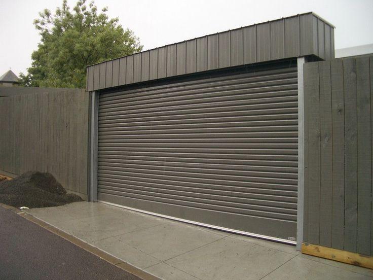 Flat Roof Garage