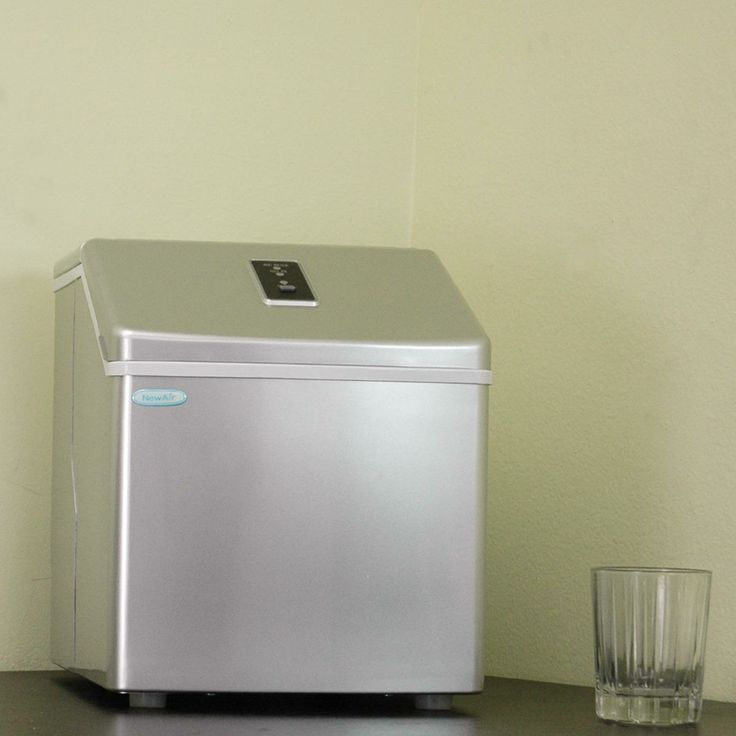 Newair Countertop Dishwasher : NewAir AI-130S Portable Clear Ice Maker with Sleek Silver Finish Ice ...