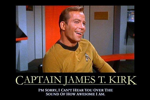 ❥ super awesomeness ;)James Of Arci, Awesome, Demotivational Posters, Funny, Stars Trek, Kirk, Startrek, Motivation Posters, Star Trek