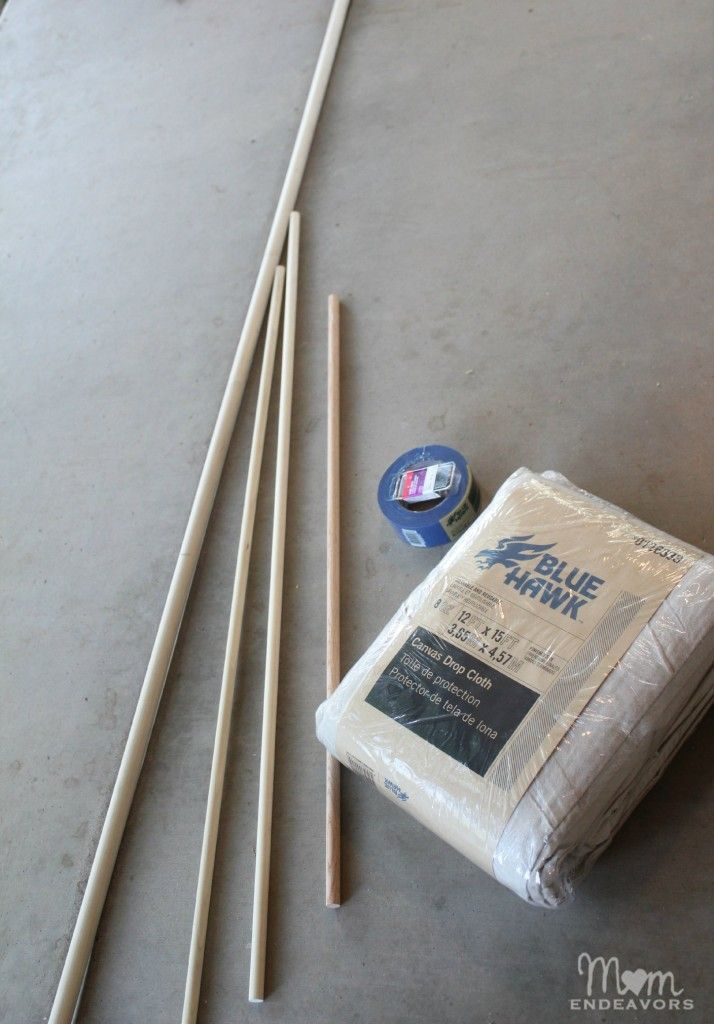 DIY Mast Supplies