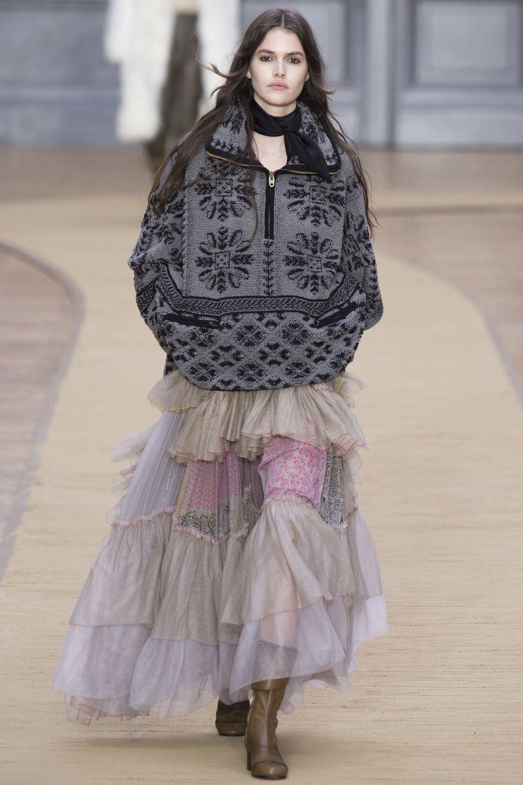 Chloé Fall 2016 Ready-to-Wear Fashion Show - Vanessa Moody (Women)