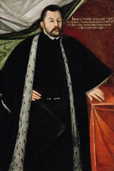 Portret Jana Opalińskiego, 1591               Galeria Sztuki Polskiej od XVI do XVIII wieku