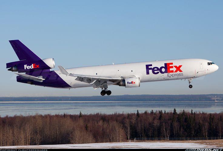 FedEx - Federal Express McDonnell Douglas MD-11F  Anchorage - Ted Stevens International (ANC / PANC) USA - Alaska, March 27, 2014