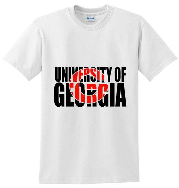 University of Georgia Shirt University of by CraftoholicDiaries