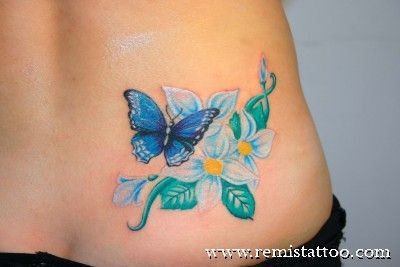 Flower tattoos are a very popular choice not only among women but also men, but some designs leave a little to be desired. In this article, I'll be featuring popular design images along with helpful tips on choosing the appropriate color, size and placement that best features these beautiful permanent works of art.