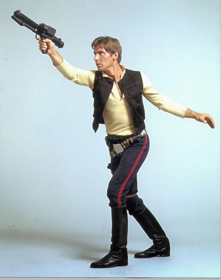 """Geek Grrl Crafts: Han Solo Costume: Making of Han's """"A New Hope"""" Outfit"""