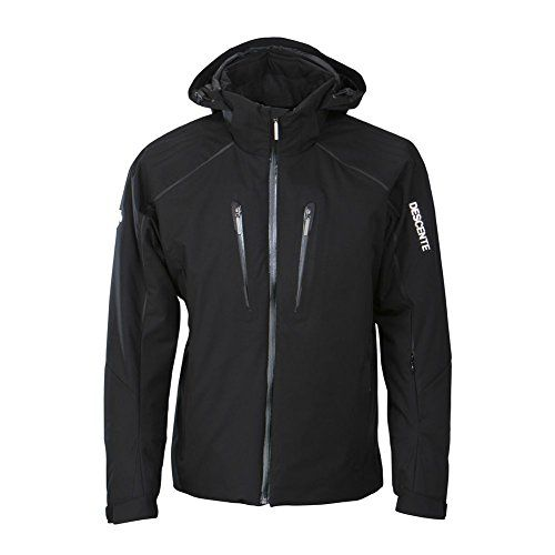 Descente Rogue Mens Insulated Ski Jacket  LargeBlack *** Check out this great product.