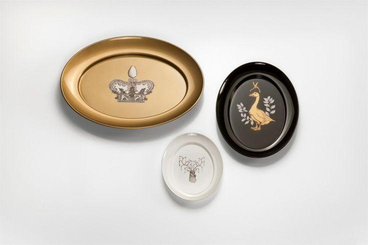 Ovo tabeware collection designe by the chef Carlo Cracco for Kartell