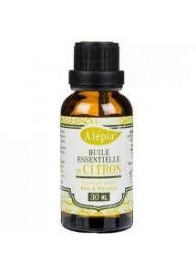 Alepia - Najwyższej jakości w 100% naturalny olejek eteryczny wytwarzany jest na zimno ze skórki cytryny. Najwyższej jakości w 100% naturalny olejek eteryczny wytwarzany jest na zimno ze skórki cytryny. Wykazuje właściwości przeciwzapalne, przeciwwirusowe i bakteriobójcze. Pomaga zwalczać infekcje, takie jak przeziębienie, grypa czy zapalenie oskrzeli poprzez działanie przeciwgorączkowe, napotne i bakteriobójcze.
