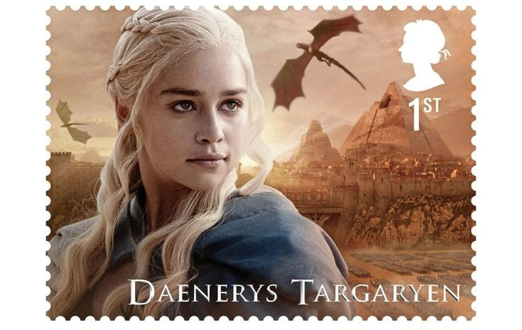 Daenerys Targaryen has her own stamp Game of Thrones characters to feature on new stamps - The Irish News