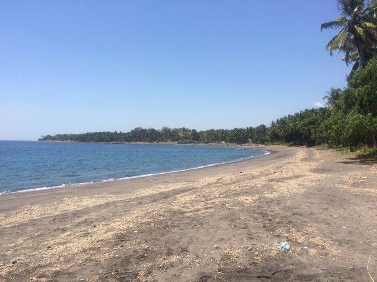 Pantai tebing or pantai Luk.. One of the best beach in Lombok , Indonesia..